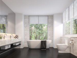 Rolety wyposażenie łazienki